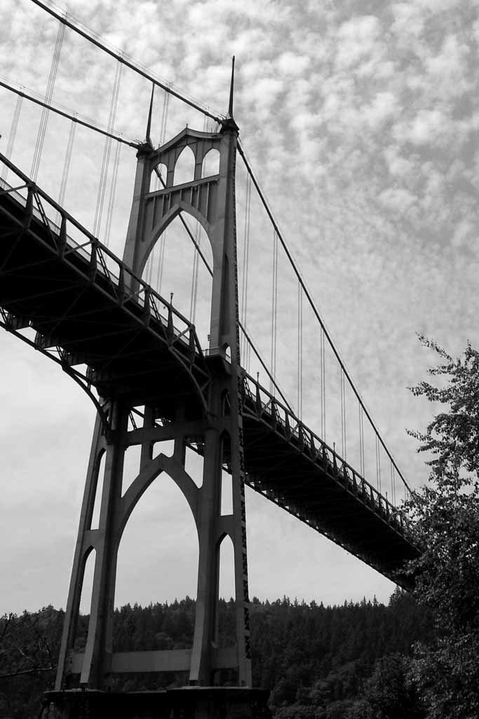 Fine Art Photography of St. Johns Bridge by Deanna Cantrell