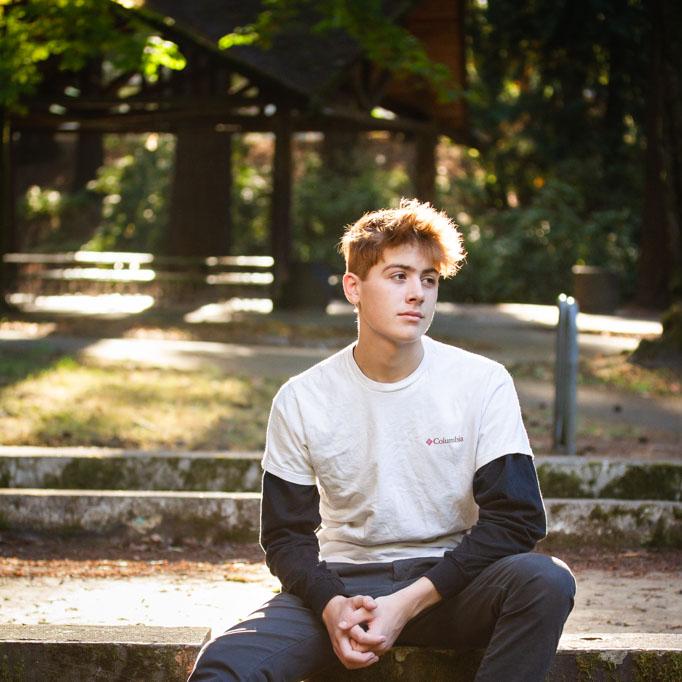 Senior Portrait Photo by Deanna Cantrell